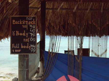 Kleine Massage am Strand?
