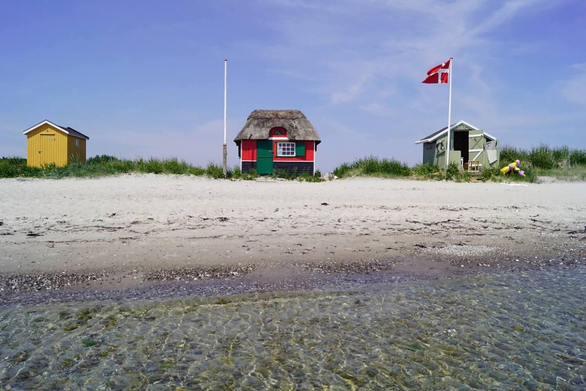 Strandhuis in Marstal, Ærø