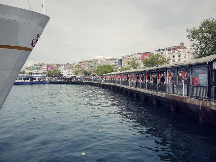 Auf ein Dürüm in Kadiköy