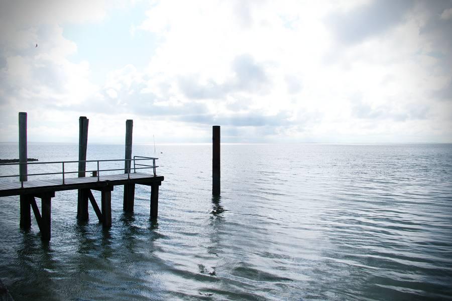 Op de pier, Langeness