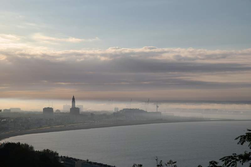Le Havre like Monet