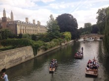 Punts on the river!