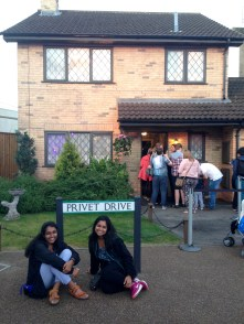 Made it to Privet Drive