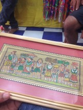 Folk art at Pipli