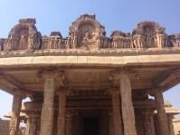 Facade of Hazara Rama temple