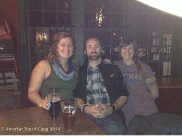 Asheville, North Carolina - At the Westville pub