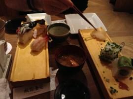 Yummy yummy sushi.