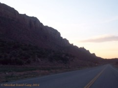 We caught sunset just as we were pulling into Moab