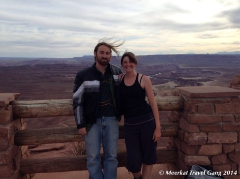 The first overlook we got to in Canyonlands