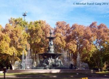 Parque General San Martín, very beautiful