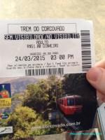 Trem do Corcovado ticket