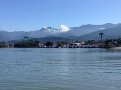 Downtown Paraty from the Bay