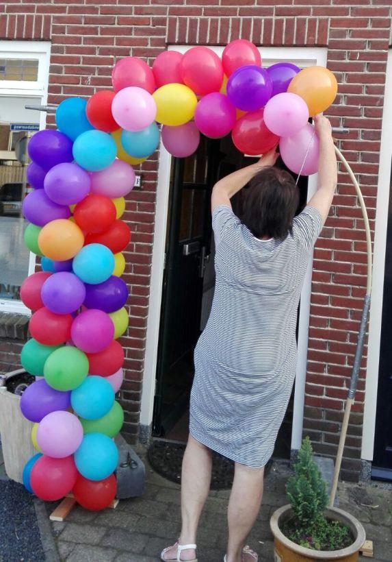ballonnenboog maken