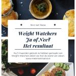 weight watchers eindstand