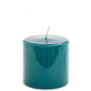 Stompkaars hoogglans blauw 10x10cm-zeeblauw