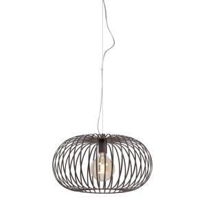 Hanglamp bruin Bolato 40cm