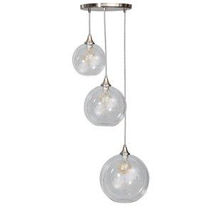 Hanglamp glas calvello 3 lichts