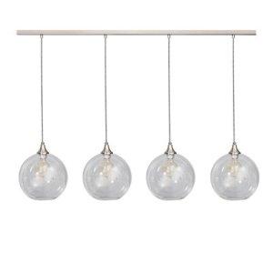 Hanglamp glas calvello 4 lichts