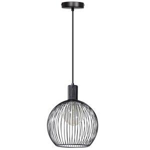 Hanglamp zwart Wire 30cm