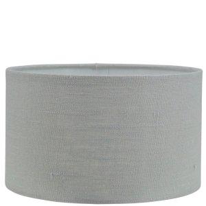 Lampenkap grijs Linnen cilinder TLN10