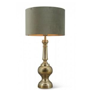 Tafellamp brons Bolton 51cm detail