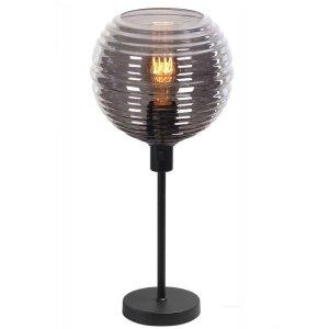Tafellamp smoke Fantasy globe 34cm