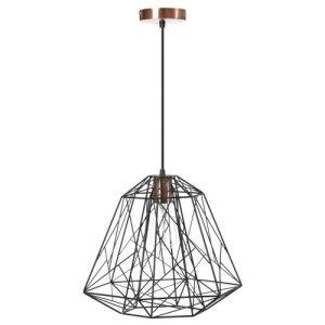 Hanglamp zwart Starlight 40cm