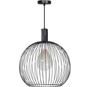 Hanglamp zwart Wire 50cm