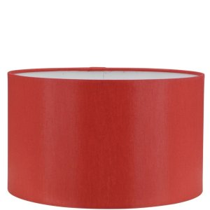 Lampenkap rood Chintz cilinder GCH90
