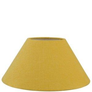 Lampenkap geel katoen schuin TLI0128