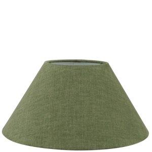 Lampenkap groen katoen schuin TLI0842