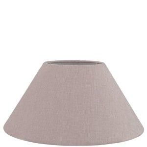 Lampenkap roze katoen schuin TLI0374