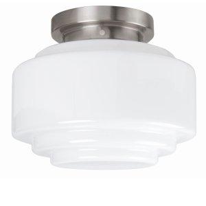 Plafondlamp melkglas Leeds 30cm