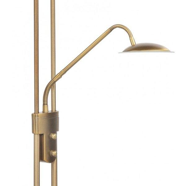 Vloerlamp brons New Empoli detail