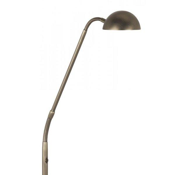 Vloerlamp koper Parma detail