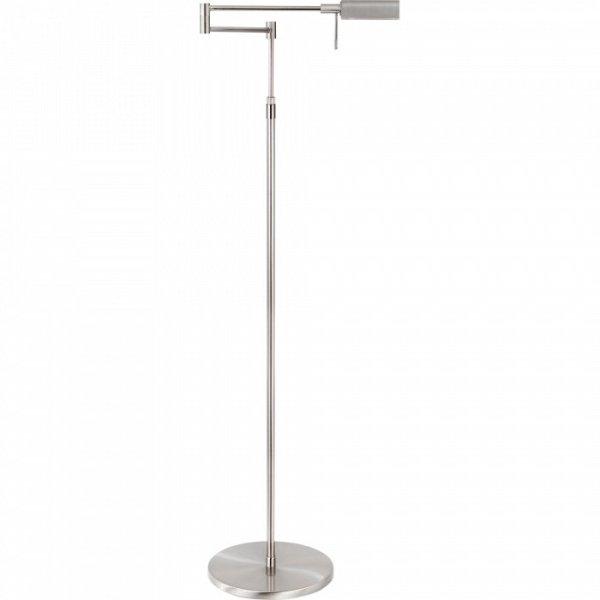 Vloerlamp staal New Bari 139cm