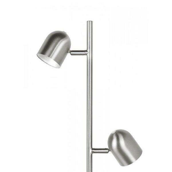 Vloerlamp staal Ovale detail