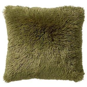 Sierkussen groen Calliste fluffy 45x45