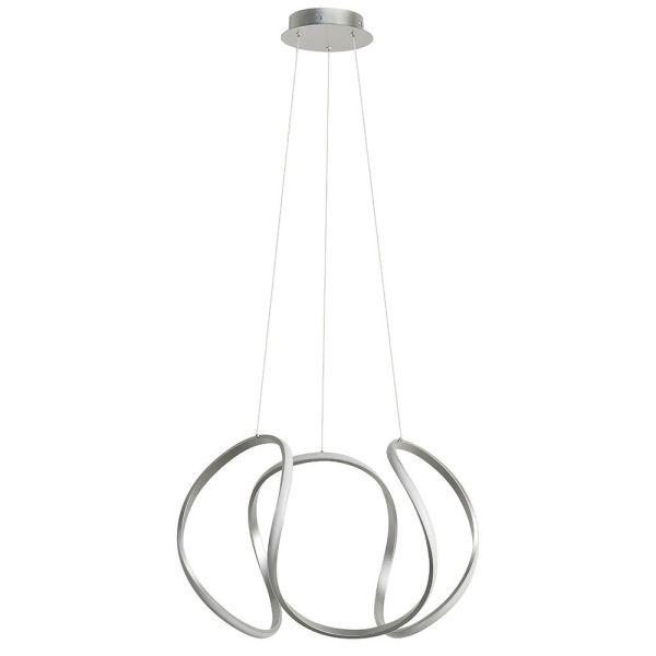 Hanglamp chroom Kyra 70cm