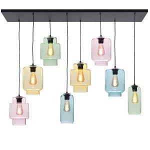 Hanglamp multi fantasy Amair 8 lichts