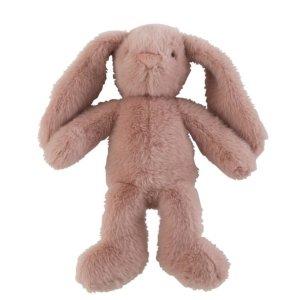 Knuffel konijn roze 30cm detail