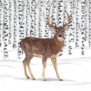 Servetten Wilderness Stag 33x33