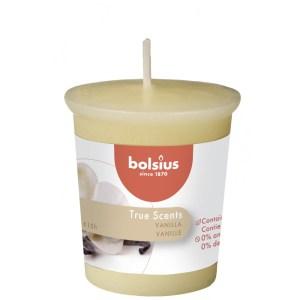 Stompkaars true scents vanille crème 5cm