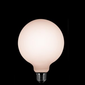 Lichtbron LED Globe 125mm opaal scene switch