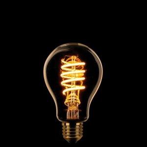 Lichtbron LED Standaard spiraal goud scene switch