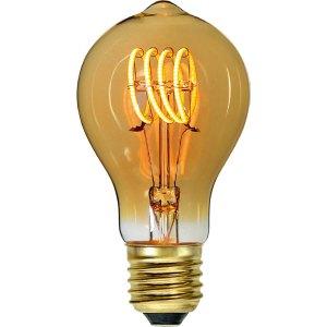 Lichtbron LED Standaard spiraal amber 9W dimbaar