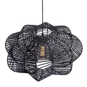 Hanglamp zwart Hauwert 50cm