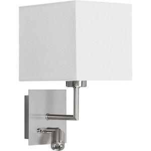 Highlight Wandlamp + led zilver-wit Hotel W3507.00