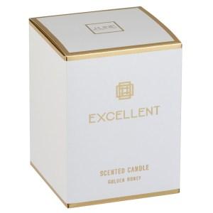 Geurkaars excellent goud 9x12 verpakking