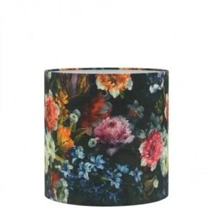 Lampenkap bloemenprint Ruben cilinder 40x40x40cm